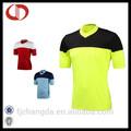 Design de moda personalizado da equipe de futebol jersey 100% homens poliéster futebol& camisas de futebol de qualidade superior