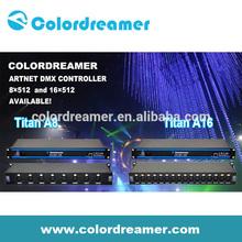 Colordreamer pioneer dj controlador DMX LED Driver Artnet controlador com compatível madrix