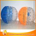 el tamaño del cuerpo traje inflable bola de venta de la fábrica de la burbuja baratos de fútbol inflable del zorb bola para los deportes de fútbol