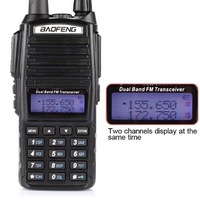 Dual band 128 channel 5watt vhf low band frequency transceiver