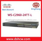 Orginal New 24 port cisco desktop switch WS-C2960-24TT-L Network switch
