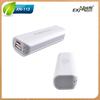 Fashional universal external usb backup power bank battery with cheap price