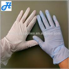 Professional hospital usage medical disposable nitrile gloves