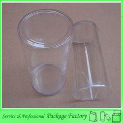 High grade transparent plastic PET fish & chips box
