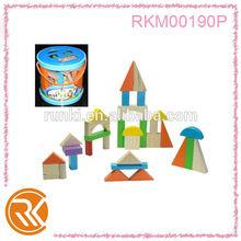 Wooden block kid toy wooden block education toy building blocks