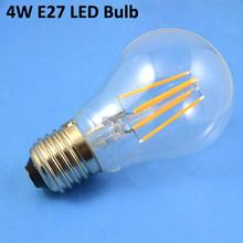 TUV CE EMC LVD ROHS led filament bulb 4W 360 Degree led bulb lamp
