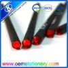 popular black wooden pencil with color diamond/diamond pencil