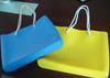 jelly color shopping bag fshion candy color lady handbag silicone beach bags