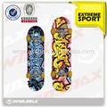 2014 new design custom canadense skate deck professional fabricante líder