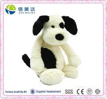 Bashful Black & Cream Puppy, Medium