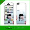 Creative design clear vinyl unique pvc smart phone cover skins