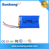 Lithium polymer lipo battery 3.7V 500mAh rechargeable high temperature battery