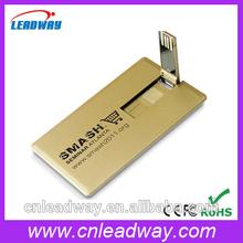 Full color printing credit card pen drive