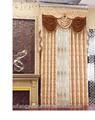 100% ployester jacquard da listra moda moderna sala de cortina