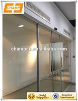 ZG0611 automatic sliding hermetic glass door hospital door automatic glass door