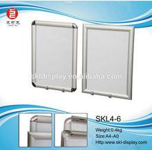 25mm Aluminum Photo picture frame A1A2A3A4