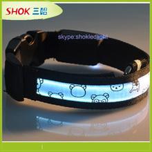 Promotion price flashing led pet collar,led collar pet