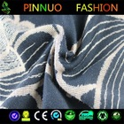 wholesale kint print denim fabric waterproof fabric for clothingclothing