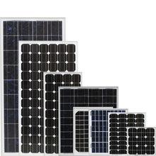 solar panel 12v 5w 15w 50w 60w 75w 80w