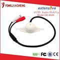 Circuito cerrado de televisión sistema de audio micrófono, auido pick- up de monitoreo de audio de alta sensibilidad