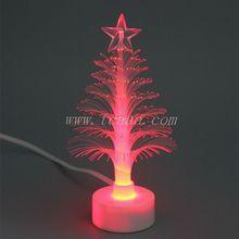 christmas ornament,decor,gift, fiber optic christmas tree,novelty led colorful tree night lighting