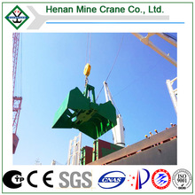 8 M3 Electric Clamshell Grab Bucket to Loading Fertilizer