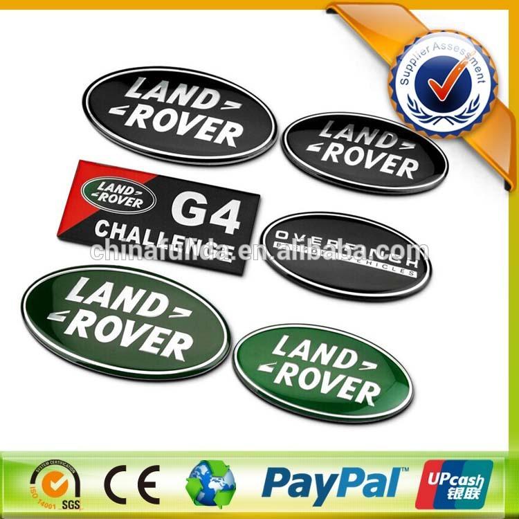 Oval Logo Design Car Sticker Logo Design Land