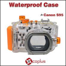 MCOPLUS Underwater Universal Camera Waterproof Bags 40m/130ft for Canon Digital Camera S95