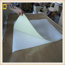 Cast coated papier autocollant auto - adhésif papier décoratif pour meubles kraft brun papier auto - adhésif