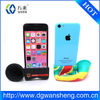 Hands-free Amplifier, Horn Stand Speaker Silicon Case for iPhone 5