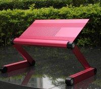 Adjustable table plastic lap desk