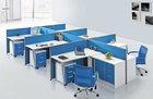 Unique metal furniture legs for 6 person office desk workstation table