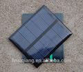 Alta qualidade de design personalizado 73*67mm 2v 0.5w epóxi painel solar para a energia solar levou luz/brinquedos