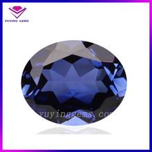 fancy oval shape glass gems fake gemstone for jewelry