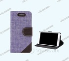 Grand Stand leather cover case for samsung galaxy grand Note 3
