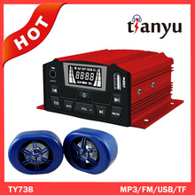 motorcycle alarm mp3/motorcycle fm radio/motorcycle audio system