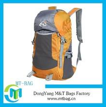 2014 new fashon super lightweight hiking backpack nylon backpack foldable bag