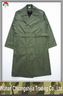 olive green army overcoat