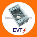rígido de aluminio de una pandilla de resistente a la intemperie de las cajas eléctricas