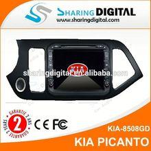 KIA-8508GD 2 din car multimidia dvd GPS navigation for KIA PICANTO 2014