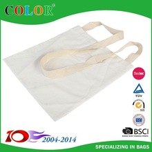 Useful and Durable Black Cotton Tote Bag