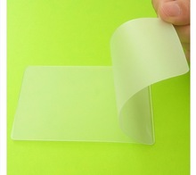 glossy laminating pouch film for business card