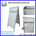 Aluminio a1 pavimento regístrate, la exhibición de publicidad