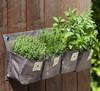 Garden Balcony Organic Flower Pot Bags,PP Planting DIY Garden Pouches,Wall Mounting Hanging Grow Planter,Vegetable Bag