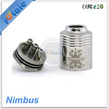 2014 new RBA atomizer nimbus ego vaporizer pen with 2.6ml