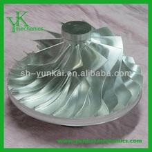 Stainless steel aluminum parts, high precision vacuum cleaner impeller, water pump impeller