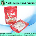 Stand up plastic candy pouch laminated plastic candy bag