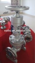 CS gate valve with worm gear operator
