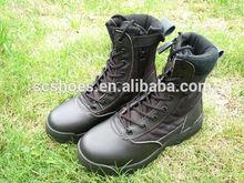 บนชั้นหนังแท้สีดำป่ารองเท้ากันลื่นรองเท้าความปลอดภัยรองเท้าทะเลทรายทหารขายส่ง