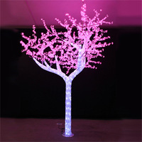 New 2.5M color changing led cherry tree